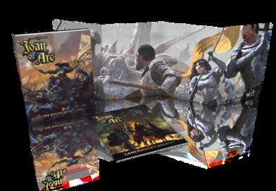 Time of Legends: Joan of Arc Kickstarter Unveils 5e OGL RPG
