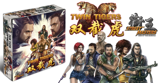 Board Game Review: Street Masters: Twin Tigers and Redemption