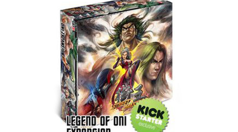 Board Game Review: Street Masters Kickstarter Exclusives: Legend of Oni and Stretch Goals