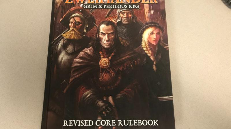 RPG Review: Zweihander Core Rulebook (Hardback)
