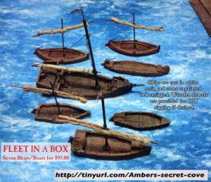 Ahoy Ahoy! Ship Miniatures and Maps for D&D – Dice Monkey
